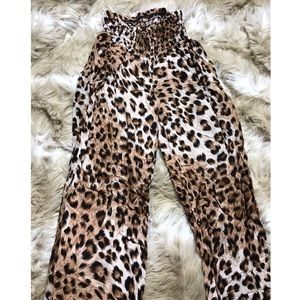 Pants - cheetah pants